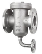 """flushing strainer model SSGFV 316SS 3"""" with 1"""" flanged drain"""