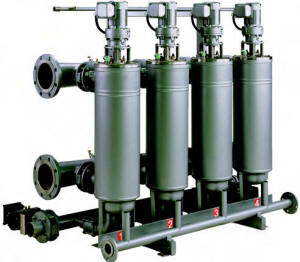 DCF 2000 mechanically cleand disc filter