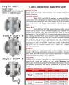 flushing strainer catalog page